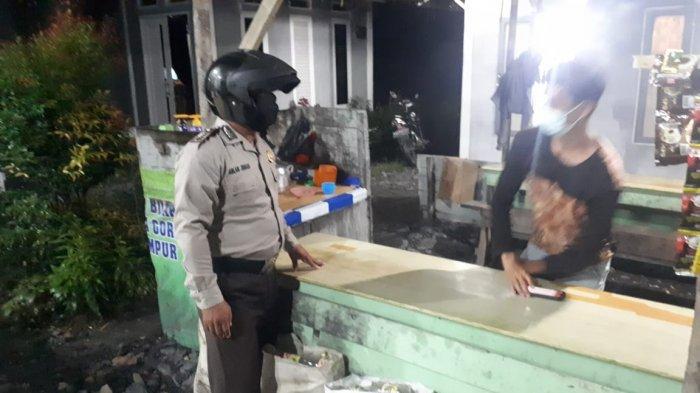 Personel Polsek Tekarang Polres Sambas, hari Kamis 9 September 2021 malam