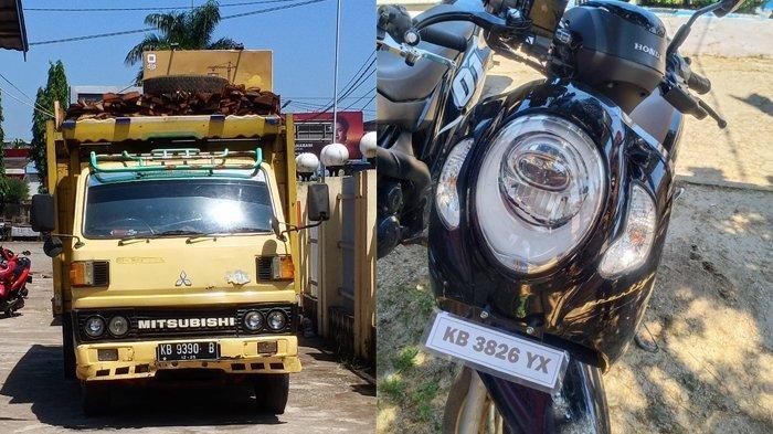 BREAKING NEWS - Truk Vs Sepeda Motor di Mempawah, Pengendara Sepeda Motor Meninggal Dunia di Tempat