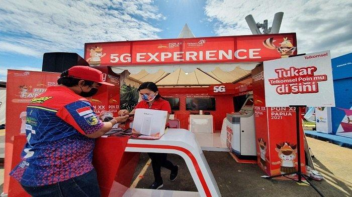Telkomsel 5G Rambah Papua, Masyarakat Bisa Nikmati Pengalaman Digital Lewat Gelaran Showcase