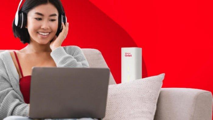 Ilustrasi modem WiFi Telkomsel Orbit