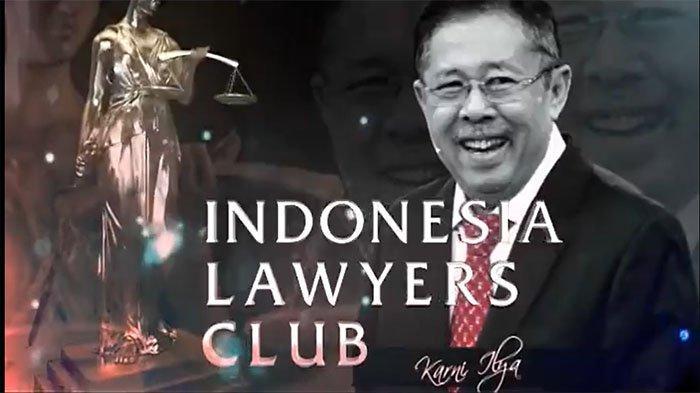 LIVE Streaming Tv One Hari Ini Tonton Diskusi Judul ILC Hari Ini di Tv One, Rocky Gerung Tampil!