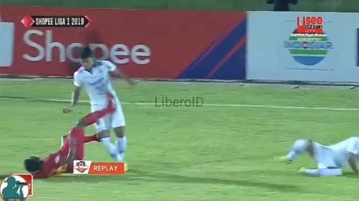 Hasil Kalteng Putra Vs Persib Bandung Liga 1 | Kartu Merah Patrich Wanggai, Gol Van Kippersluis
