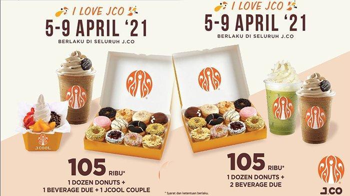 TERBARU Promo JCo Hari Ini Selasa 6 April 2021, Promo Hemat dengan Porsi Banyak