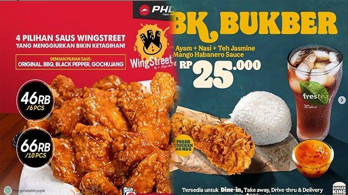 TERBARU PROMO Makanan 20 April 2021, Promo Burger King KFC Pizza Hut Delivery JCo & HokBen