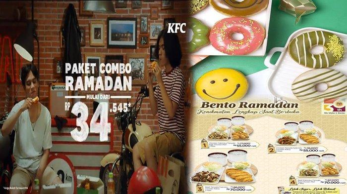 TERBARU PROMO Makanan Hari Ini 8 Mei 2021, Promo Hemat KFC HokBen Jco Dunkin Donuts & BreadTalk