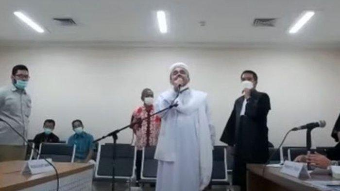 Jadwal Sidang Habib Rizieq di PN Jakarta Timur Jumat 26 Maret, Siaran Langsung di Youtube Dihentikan