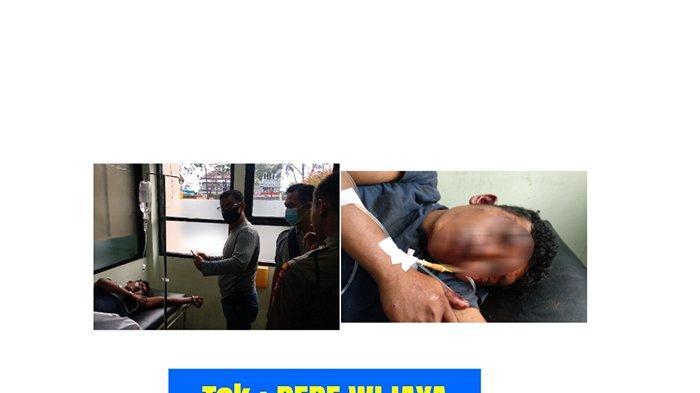 BREAKING NEWS - Kepergok Warga Saat Maling Kabel di Kubu Raya,Dua Pria Ini Babak Belur hingga Opname