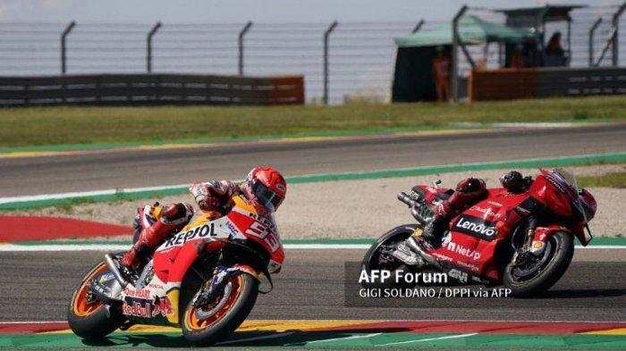 Ternyata Hipnotis Rossi Bikin Muridnya Bagnaia Sukses Taklukkan Marquez di Seri MotoGP Aragon 2021