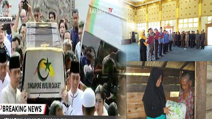 TERPOPULER - Atbah Lantik 14 Pejabat Pemkab Sambas, GPS Salurkan Bantuan, hingga Ciuman Terakhir SBY