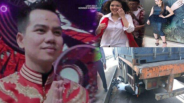 TERPOPULER - Faul Juara LIDA 2019, Artis Lolos & Gagal DPR, hingga Viral Motor Polisi Ganjal Truk