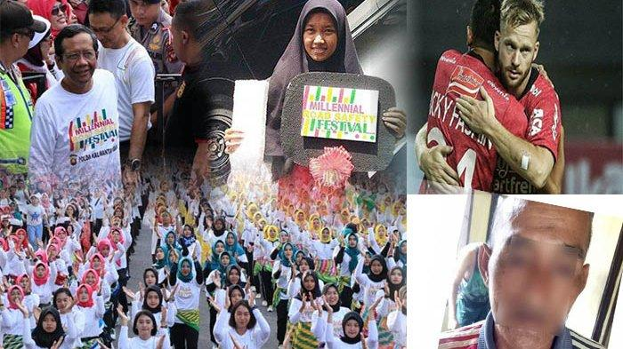 TERPOPULER - Kisah Nurzaini Raih Grand Prize Mobil, Bali United Vs Mitra Kukar, Hingga Pencabulan
