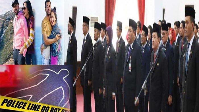 TERPOPULER - Sutarmidji Lantik 15 Pejabat, Kronologi Kecelakaan Maut, hingga Raffi Ahmad Prank Istri