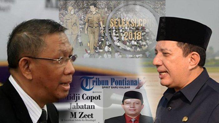 TERPOPULER - Dari Hubungan Sutarmidji dan M Zeet Assovie Hingga Formasi CPNS Kalbar