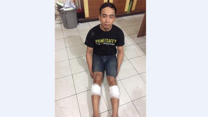 BREAKING NEWS: Doooor, Polisi Lumpuhkan Jambret di KH Ahmad Dahlan dengan Timah Panas