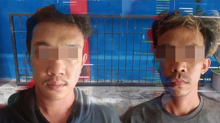 Curi Pagar Rumah, Dua Pria di Pontianak Dibekuk Polisi