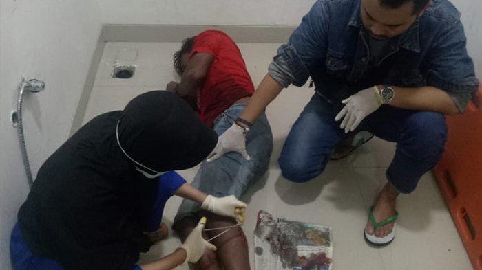 Coba Melarikan Diri saat Diringkus Polisi, Tersangka Curas Desa Kapur Kubu Raya Ditembak Kaki