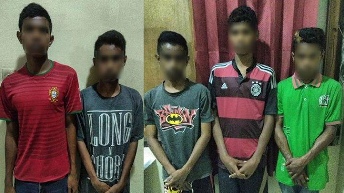 Mencuri di Rumah Polisi, Sekelompok Pemuda Ini Tertangkap