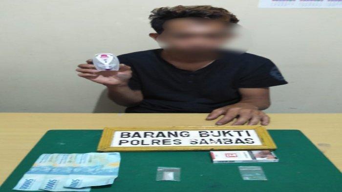 Satresnarkoba Polres Sambas Kembali Ringkus Seorang Pengguna Narkoba