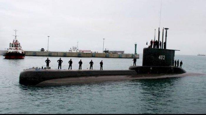 Kadispenal Julius Sebut Kapal Selam KRI Nanggala-402 Jatuh pada Kedalaman 600 hingga 700 Meter