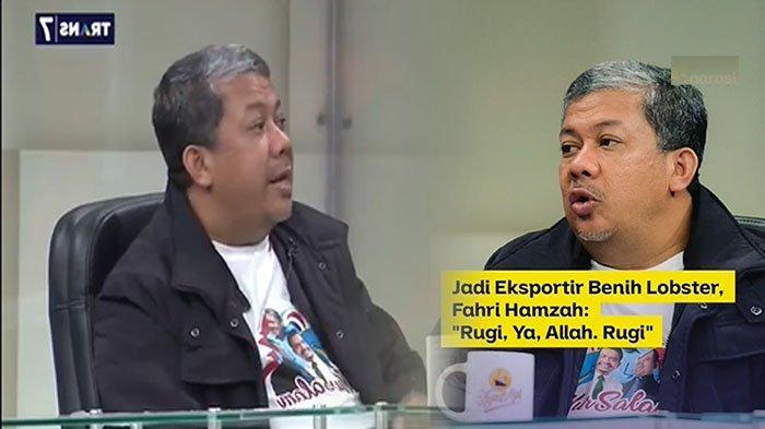 TERUNGKAP! Penyebab Fahri Hamzah Rugi Ratusan Juta Bisnis Lobster | 'Curhat' di Mata Najwa Trans7