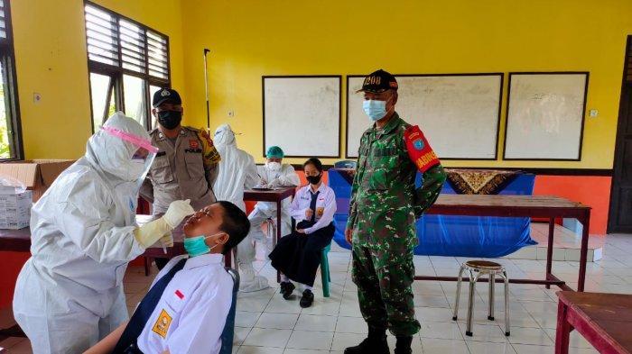 Orangtua Murid Dukung Sampling Swab Antigen Pelajar di Pontianak Cegah Klaster Sekolah