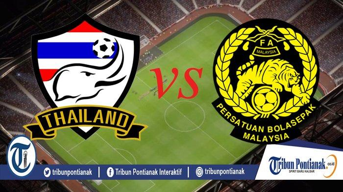 LIVE BOLA Streaming Thailand Vs Malaysia, Live Semifinal AFF Free Streaming Jam 19.00 WIB