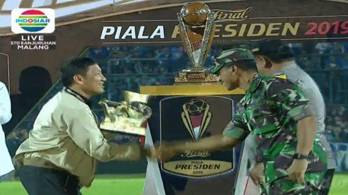 The Jak Mania Jadi Suporter Terbaik Piala Presiden 2019