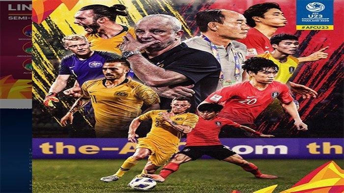 LIVE Hasil Semifinal Piala Asia U23 2020 - Arab Saudi Tunggu Hasil Australia vs Korea Selatan