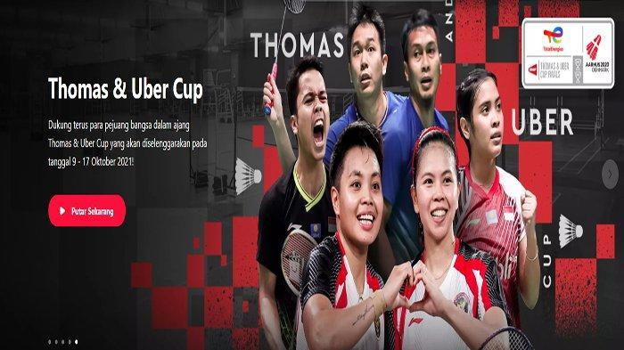 Live Score Thomas dan Uber Cup 2021 Hari Ini Update Hasil Indonesia vs Jepang Penentuan Juara Grup