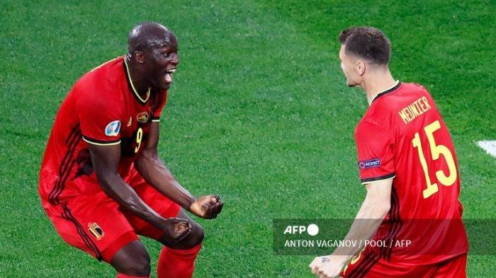 Hasil Euro 2021 - Belgia vs Denmark Update di Link Live Score Piala Eropa Grup B