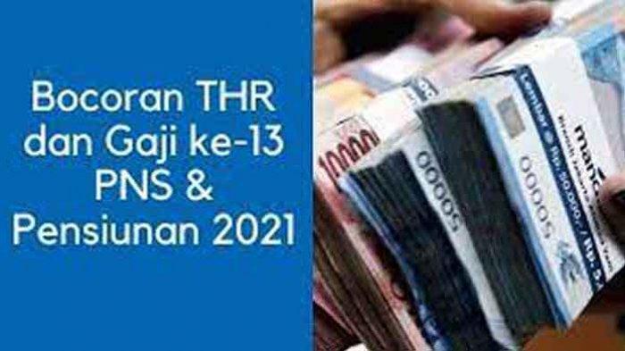 THR Pensiunan 2021 Kapan Cair? Cek Jadwal Transfer Pencairan THR PNS 2021 Beserta Besarannya