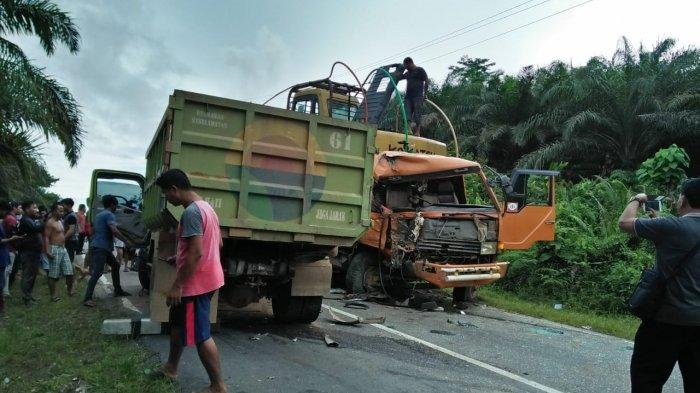 Kecelakaan Beruntun di Jalan Raya Tanjung-Kembayan, Kapolsek Tayan Beberkan Kronologinya