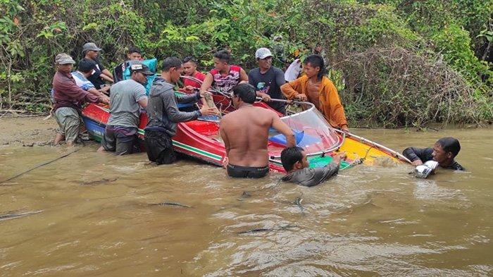 Tim Gabungan Temukan Speed Boat yang Alami Tabrakan, Dua Korban Hilang Masih Dalam Pencarian