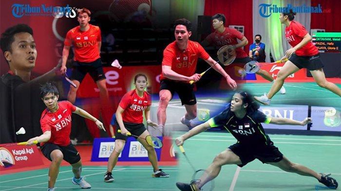 Jadwal Jam Tayang Sudirman Cup 2021 Rabu 29 September 2021 Indonesia vs Denmark Penentuan Juara Grup