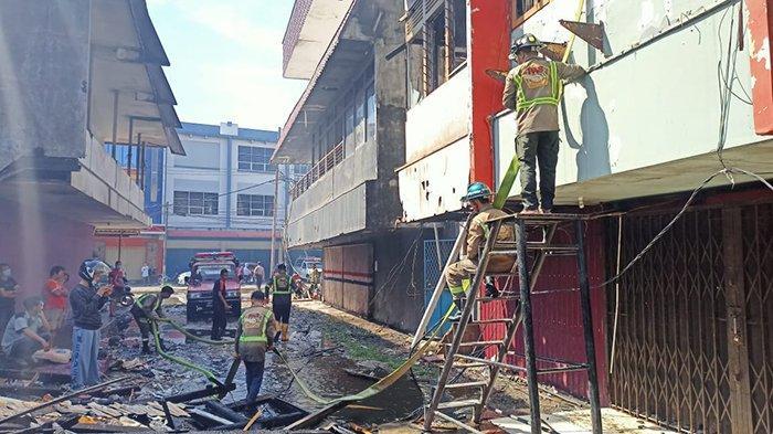 Kepala BPBD Pontianak Ungkap Puluhan Ruko Terbakar Karena Korsleting Listrik