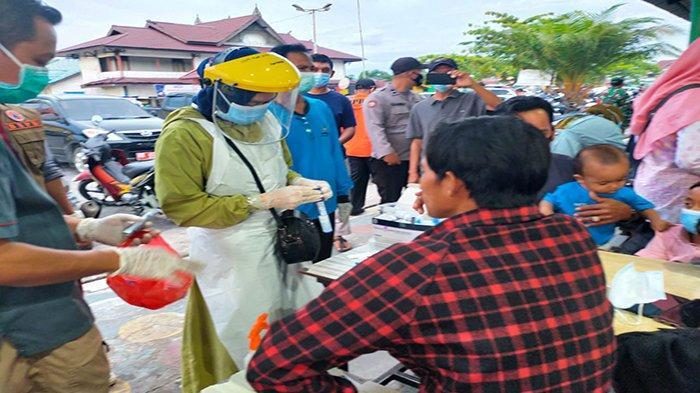 Penyekatan Pengunjung Senta Kuliner Terminal Mempawah, IPTU Imam: Masih Ada yang Abai Prokes