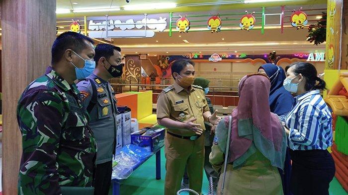 Satgas Covid-19 Tinjau Sekaligus Simulasi Arena Permainan di Ayani Mega Mall Pontianak