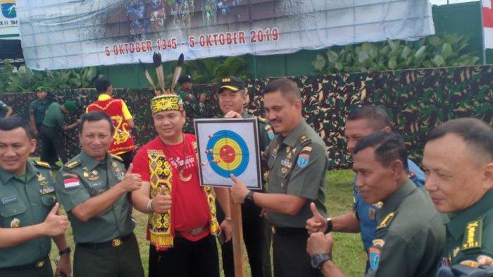 Tim Sumpit Kodim 1202 Singkawang Juara Umum Piala Pangdam XII Tanjungpura