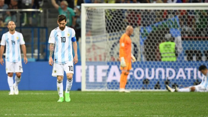 Klasemen Piala Dunia 2018: Prancis Kokoh, Islandia Bayangi Argentina