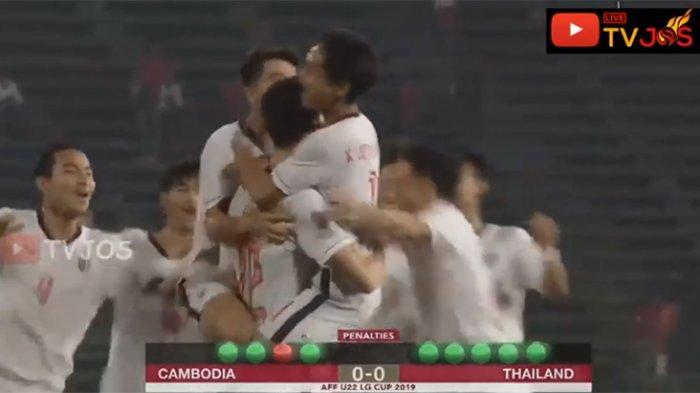 Timnas Indonesia vs Thailand di Final Piala AFF U-22 & Hasil Akhir Kamboja vs Thailand