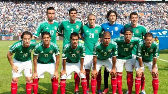 Jelang Laga Lawan Brasil, Pemain Timnas Meksiko Kompak Ubah Penampilan