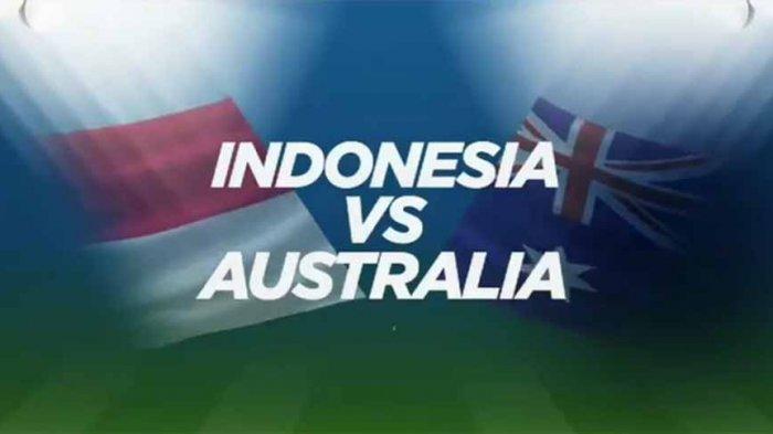 LIVE STREAMING Timnas U16 Indonesia Vs Australia di MNC TV Pukul 15.30 WIB