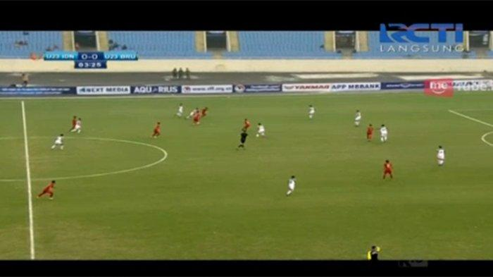 Live RCTI Streaming Indonesia Vs Brunei di Piala Asia U-23, Sedang Berlangsung Babak Pertama