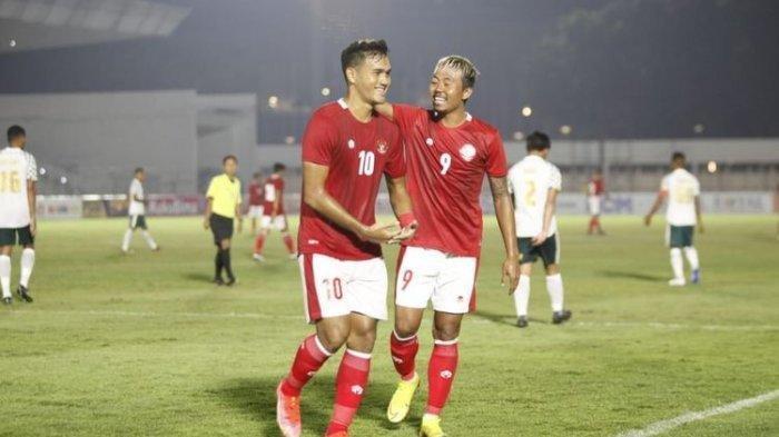 HASIL Timnas U23 vs Bali United - Pemain Pengganti KH Yudo Cetak Gol Sundulan Umpan Osvaldo Haay