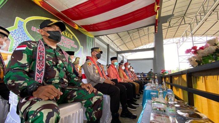 Suasana Pembukaan MTQ XXIX tahun 2021 Tingkat Kabupaten Sanggau, Selasa 28 September 2021