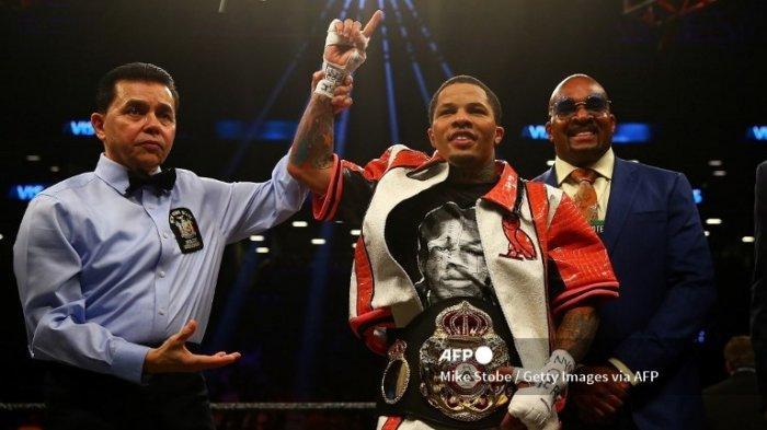 Hasil Tinju Dunia Gervonta Davis vs Mario Barrios: Davis Menang TKO Ronde 11 dan Cetak Rekor Baru