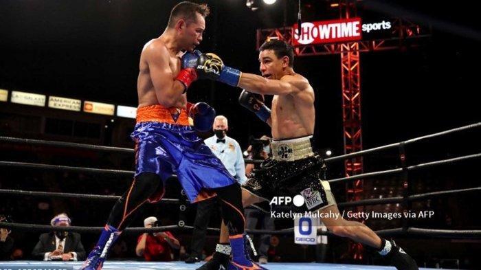 Hasil Tinju Dunia TVOne Nonito Donaire vs NordineOubaali, Kompatriot Manny Pacquiao Menang KO