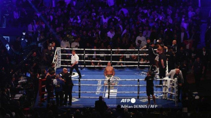 Hasil Tinju Dunia Anthony Joshua vs Oleksandr Usyk, Joshua Kalah Angka Mutlak