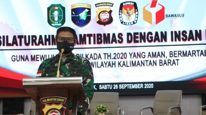 Pangdam XII Tanjungpura Sebut Profesi Insan Pers Penting untuk Mengawal Pilkada