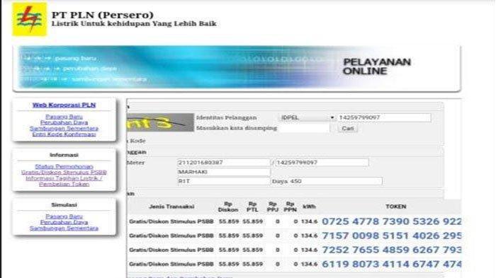 Link Token Listrik Gratis Oktober Login Www Pln Co Id Stimulus Pln Co Id Www Layanan Pln Co Id Tribun Pontianak